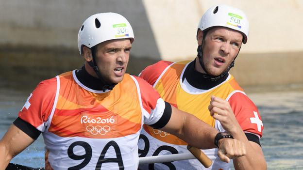 Die Brüder Werro brillieren im Kanu in Rio