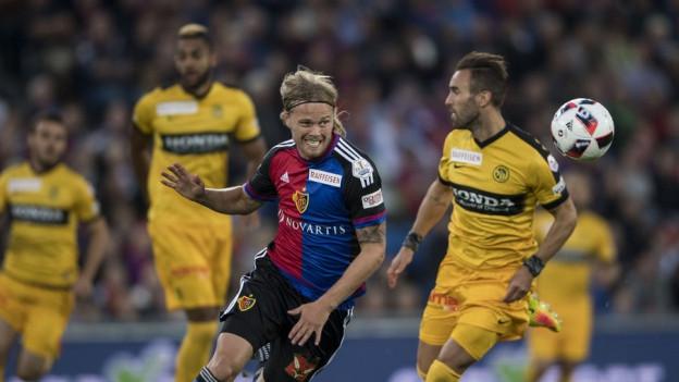 FCB-Spieler Birkir Bjarnason