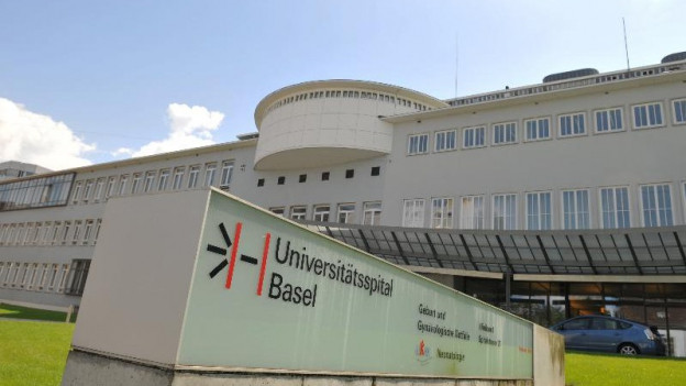 Blick auf das Universitätsspital Basel