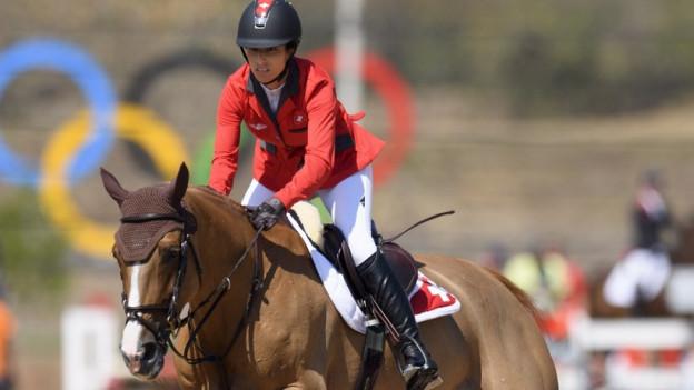Die Baselbieter Springreiterin Janika Sprunger darf in Rio im Einzelfinal nicht antreten