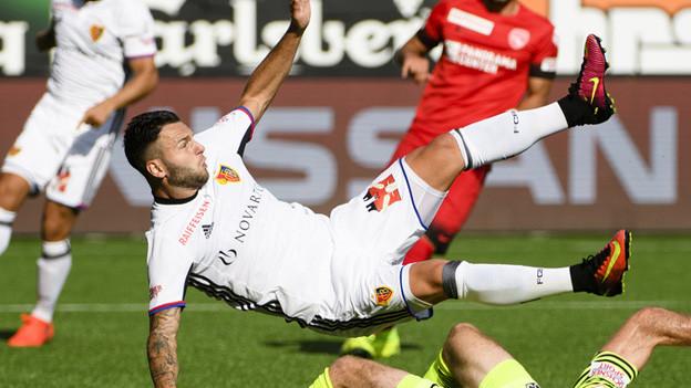FC Basel siegt auch in Thun