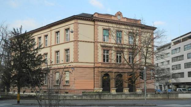 Blick auf das Basler Strafgericht