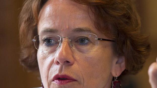Finanzdirektorin Eva Herzog