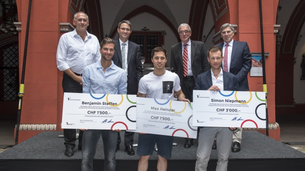 Drei Sportler wurden am Samstag von der Regierung geehrt