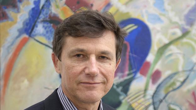 Der neue Direktor des Kunstmuseum Basel Josef Helfenstein