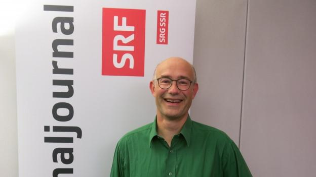 Harald Friedl vom Grünen Bündnis