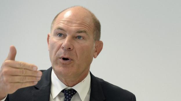 Finanzdirektor Anton Lauber ist optimistisch