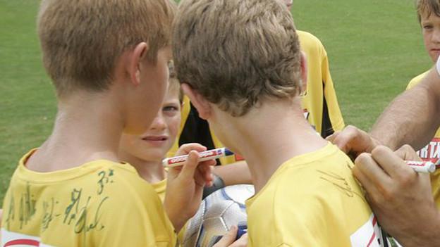 Schutzmassnahmen im Juniorenfussball