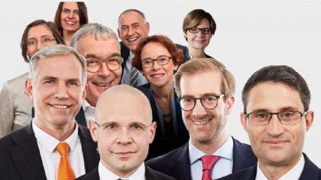 Die Kandidierenden für die Basler Regierung