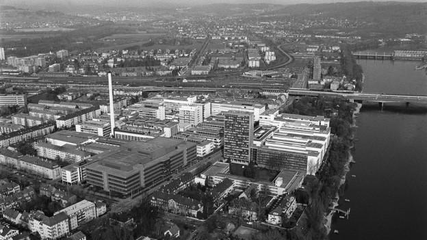 Bildlegende: Auch die Industriegeschichte Basels soll erforscht werden.