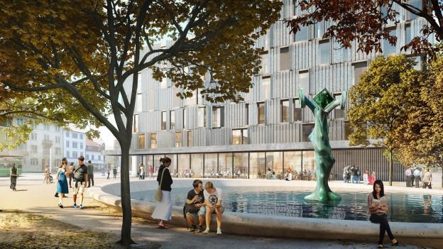 Neuer Meret Oppenheim Platz
