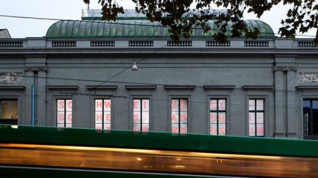 Aussenfassade des Schweizerischen Architekturmuseums