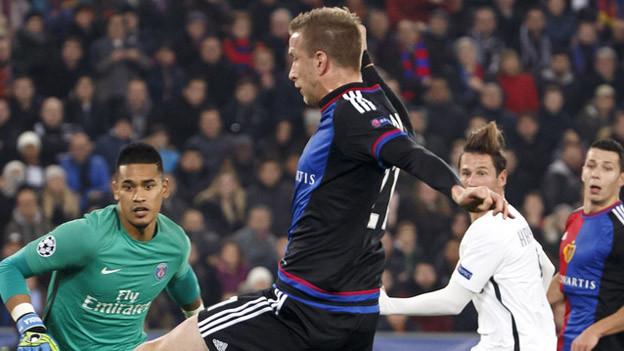 Auf verlorenem Posten: Basel gegen Paris