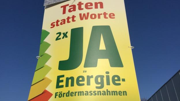 Intensiver Abstimmungskampf um Baselbieter Energieabgabe.