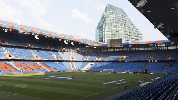 Das Joggeli-Stadion wäre für ein Schwingfest geeignet.