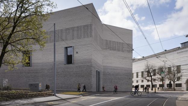 Neubau des Basler Kunstmuseums