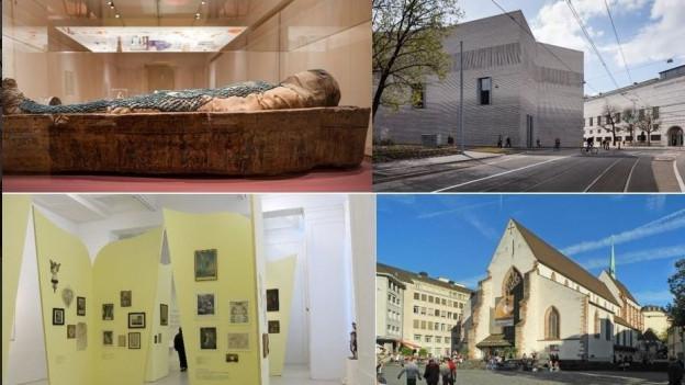 Die Basler Museumslandschaft ist vielfältig