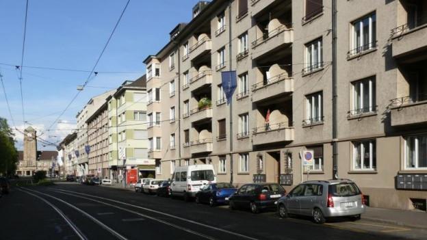 Rosentalstrasse muss erneuert werden.