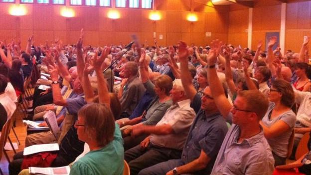 Gemeindeversammlungen lehnen Steuererhöhungen vielfach ab.