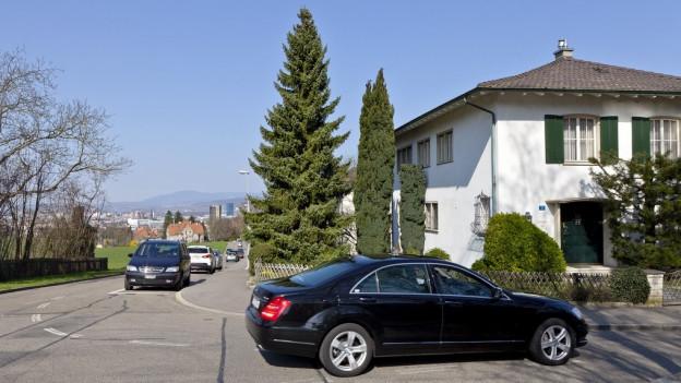 Klassisches Einfamilienhausquartier: das Bruderholz