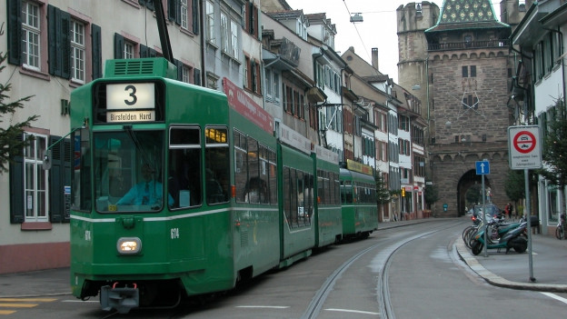 3er Tram in der Spalenvorstadt