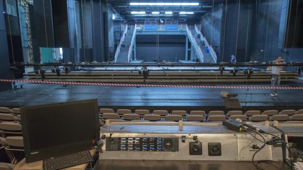 Theaterumbau erschwert wegen Konkurs