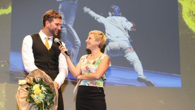Benjamin Steffen und Cathrine Thommen