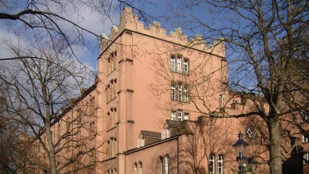 Blick auf die Basler Kaserne