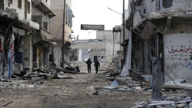 Wie lassen sich Kriege wie in Syrien verhindern? Darüber macht man sich diese Woche in Basel Gedanken.