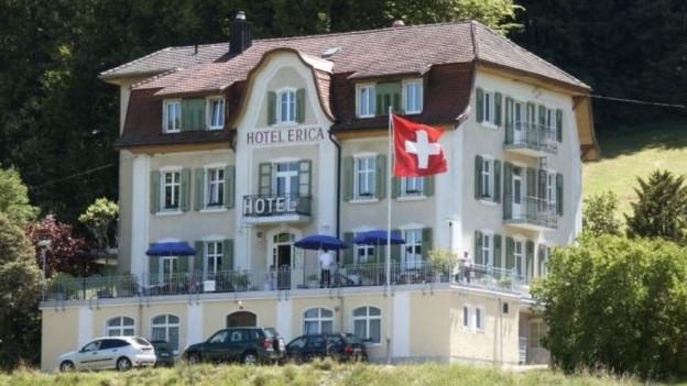 Das Hotel Erica in Langenbruck