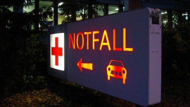 Die Notfallstation des Basler Unispitals ist überlastet