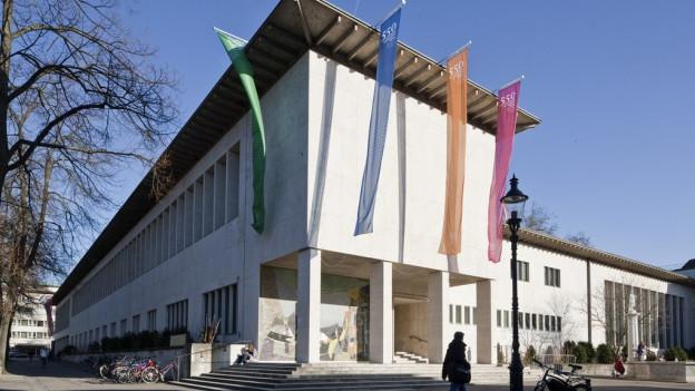 Das Kollegienhaus der Universität Basel