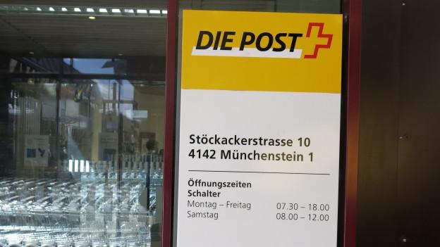 Poststelle Münchenstein