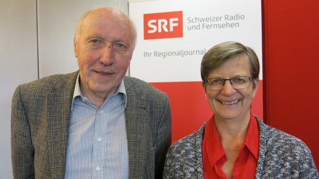SP-Landrätin Regula Meschberger und Hans Kummer im Streitgespräch zum Bruderholzspital