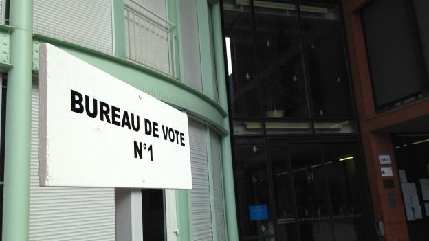 Die Elsässerinnen und Elsässer wählten anders als die französische Mehrheit.