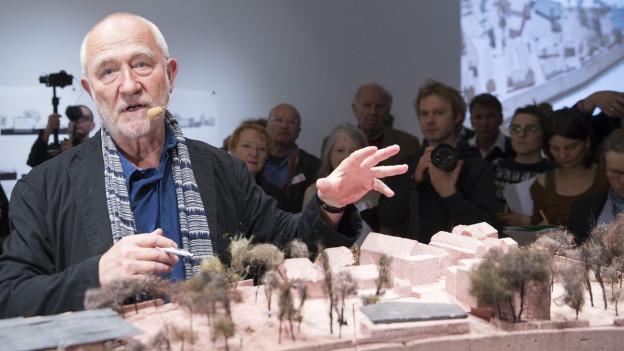 Peter Zumthor entwarf für die Fondation Beyeler drei Häuser.