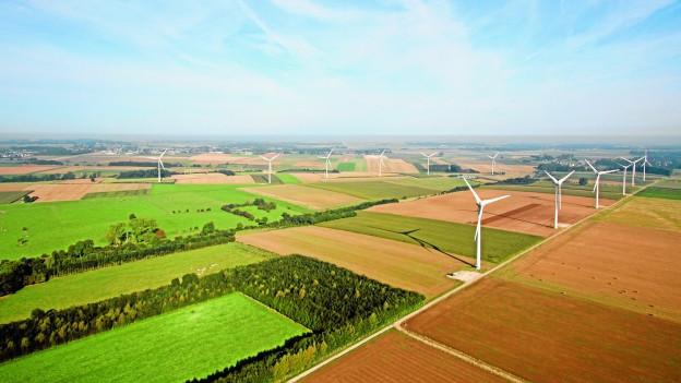 IWB-Windparks produzierten weniger Strom