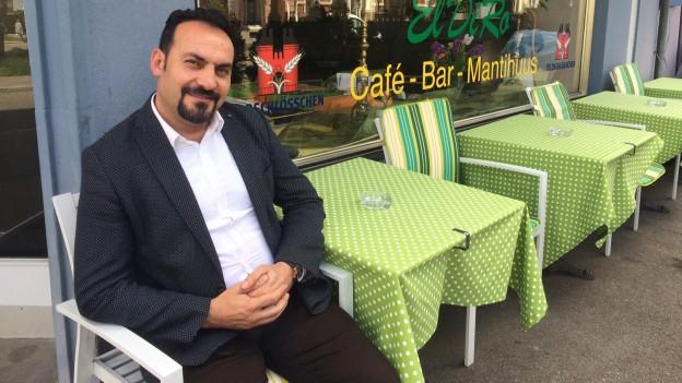 Verhaftet, jetzt wieder frei: Mehmet Sali Coskun