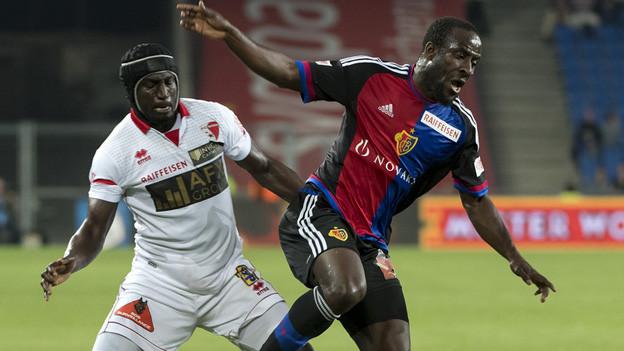Nur ein 2:2 für Basel gegen Sion