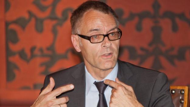 Gerhard Lips war acht Jahre lang Polizeikommandant von Basel.