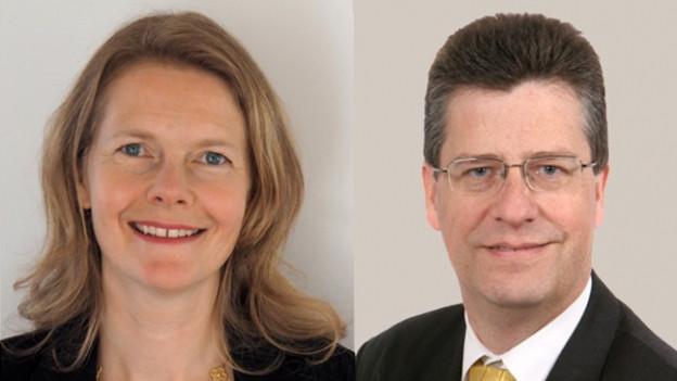 Der Ökonom Thomas Riedtmann bewirbt sich zusammen mit Elisabeth Burger Bell.