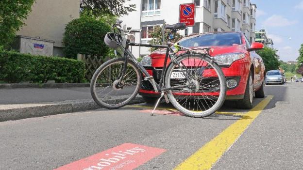 Parkpätze wie hier im Kleinbasel seien n Grossbasel-West Mangelware.