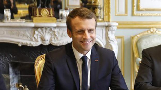 Präsident Emmanuel Macron ist der Sieger