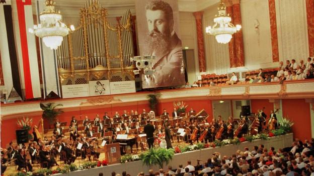 Der Zionistenkongress fand zum letzten Mal vor 20 Jahren in Basel statt