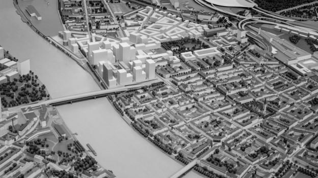 So sollte das neue Stadtquartier Klybeck-Plus aussehen.