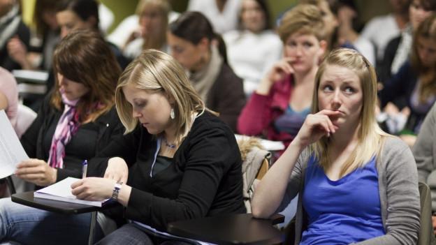 Die Erhöhung der Studiengebühren ist für die Studierenden in Basel ein Tabu.