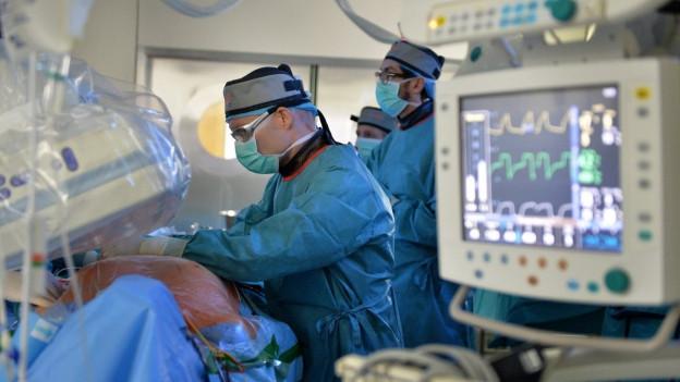 Operation in einem Spital