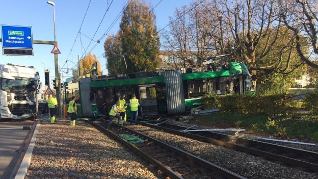 Unfall in Muttenz