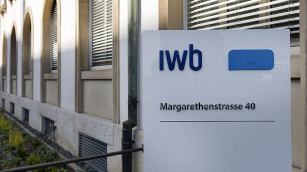 IWB Schild