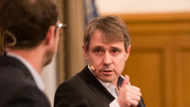 FCB-Präsident Bernhard Burgener führt den FCB in die Zukunft